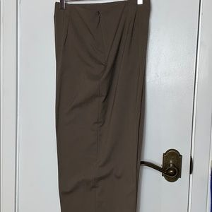 Coldwater Creek Pants - NWT Coldwater Creek brown Holly Pant size 16